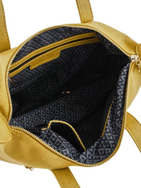 Sac Shopping Soft Lulu castagnette Jaune soft KEORGE vue secondaire 4