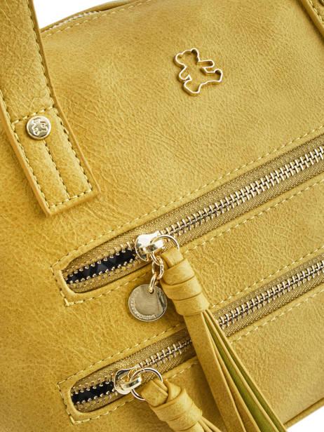 Sac Shopping Soft Lulu castagnette Jaune soft KEORGE vue secondaire 1