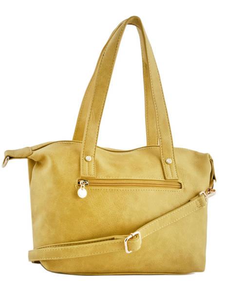 Sac Shopping Soft Lulu castagnette Jaune soft KEORGE vue secondaire 3