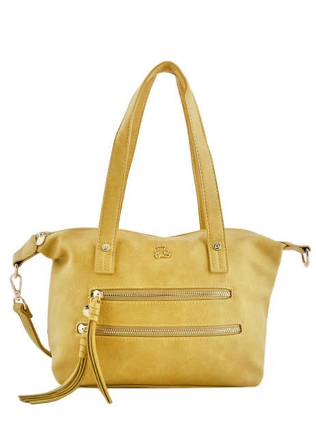 Sac Shopping Soft Lulu castagnette Jaune soft KEORGE