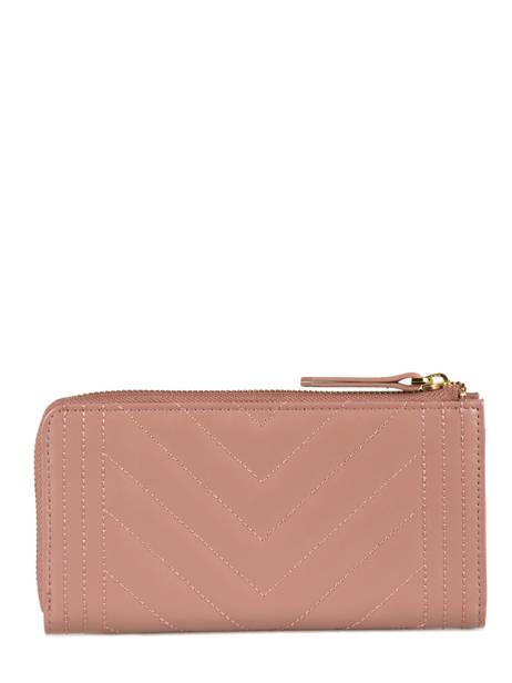 Wallet Leather Nat et nin Pink vintage LENA other view 2