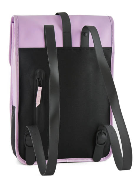Backpack 1 Compartment + 13'' Pc Rains Black boston 1280 other view 3
