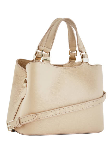 Min Sac Piping Cuir Patrizia pepe Beige piping 2V8472B vue secondaire 3