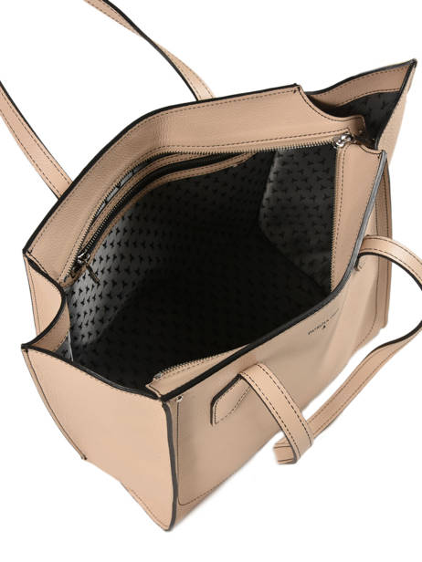 Sac Trapeze Fly Wings Cuir Patrizia pepe Beige fly wings 2V8523 vue secondaire 4