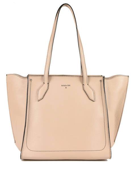 Sac Trapeze Fly Wings Cuir Patrizia pepe Beige fly wings 2V8523