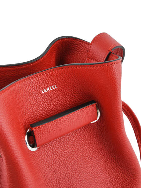 Crossbody Bag S Le Huit Leather Lancel Red le huit A07111 other view 1