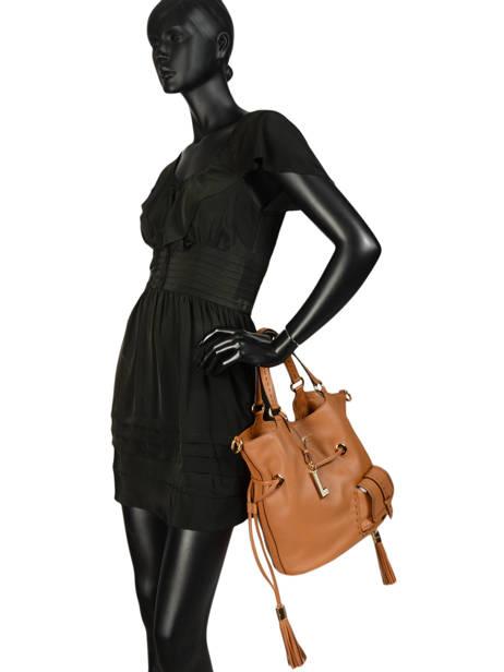 Medium Bucket Bag Premier Flirt Lancel Brown premier flirt A10110 other view 4