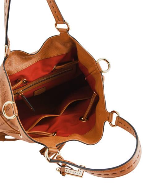 Medium Bucket Bag Premier Flirt Lancel Brown premier flirt A10110 other view 7