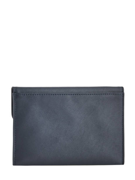 Leather Wallet Soft Hexagona Blue soft 227334 other view 2