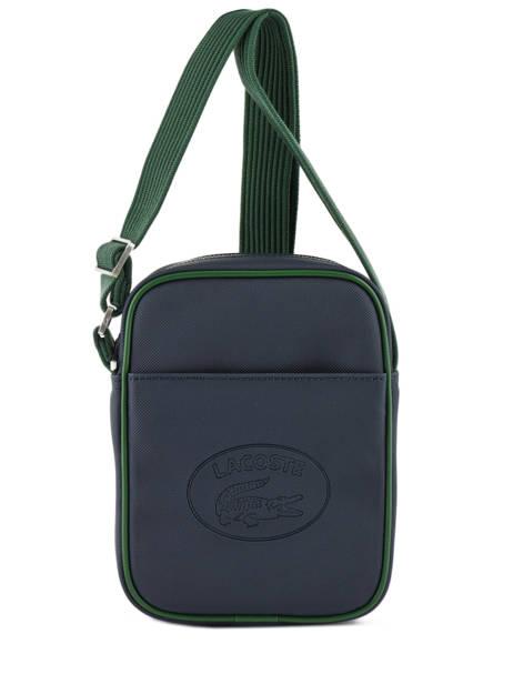 Crossbody Bag Lacoste Black 1930's original NH2874MX