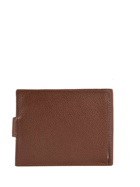 Wallet Leather Hexagona Brown confort 461050 other view 2