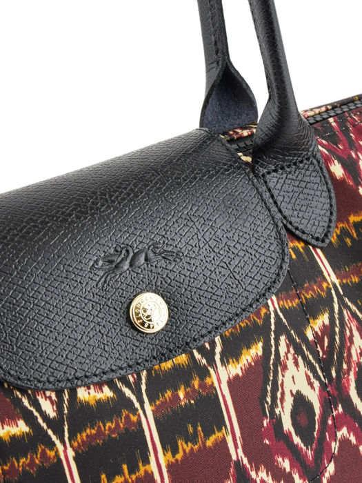 Longchamp Le pliage ikat Besaces Rouge