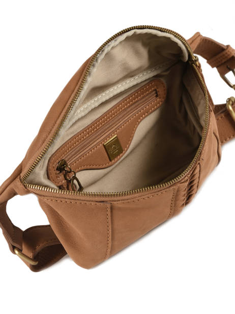 Fanny Pack Natte Leather Etrier Brown natte ENTT10 other view 4