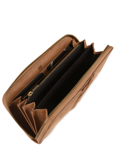 Leather Wallet Natte Etrier Brown natte ENTT91 other view 2