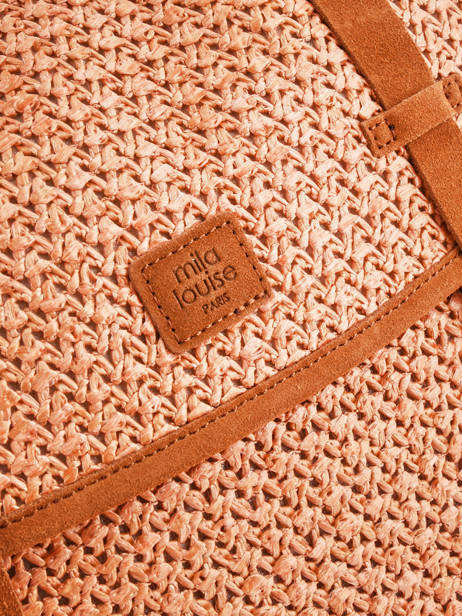 Sac Besace Bernie Mila louise Orange paille 23687P2 vue secondaire 1