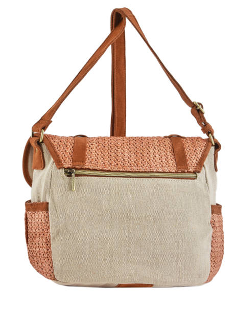Sac Besace Bernie Mila louise Orange paille 23687P2 vue secondaire 3