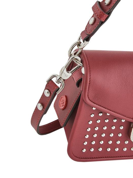 Longchamp Mademoiselle longchamp rock Sacs porté travers Rouge