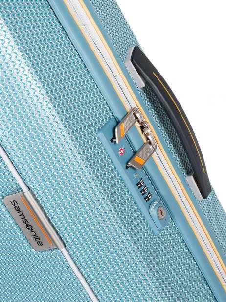 Hardside Luggage Mixmesh Samsonite Blue mixmesh CH6002 other view 2