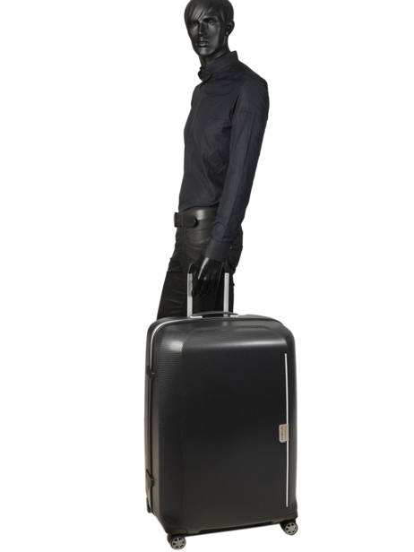 Valise Rigide Mixmesh Samsonite Noir mixmesh CH6003 vue secondaire 4