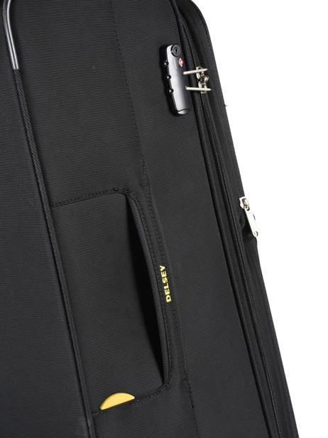 Softside Luggage Expendable Chartreuse Delsey Black chartreuse 3673821 other view 1