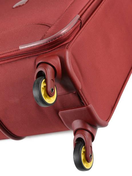 Valise Souple Extensible Chartreuse Delsey Rouge chartreuse 3673821 vue secondaire 2