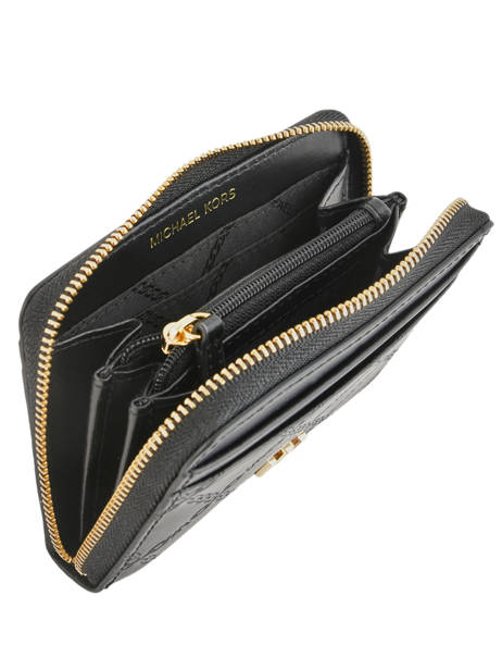 Porte-monnaie Gramercy Cuir Michael kors Noir money pieces S9GF6Z1Y vue secondaire 1