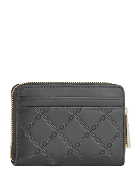 Porte-monnaie Gramercy Cuir Michael kors Noir money pieces S9GF6Z1Y vue secondaire 2
