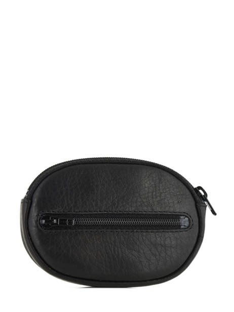 Purse Leather Le tanneur Black gary TRA3117 other view 1