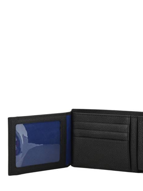 Portefeuille Cuir Le tanneur Noir charles TCHA3310 vue secondaire 3