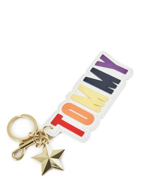 Porte-clefs Tommy hilfiger Noir accessoires AW06521