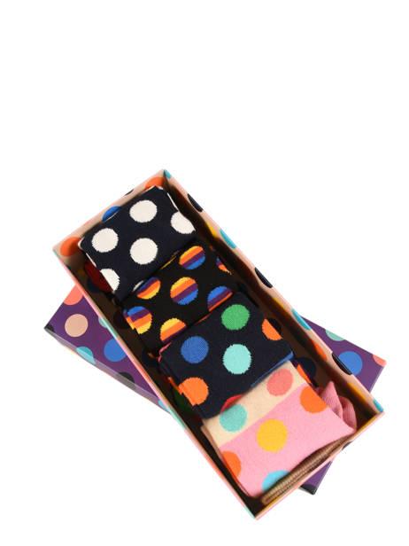 Socks Gift Box Happy socks Black pack XBDO09