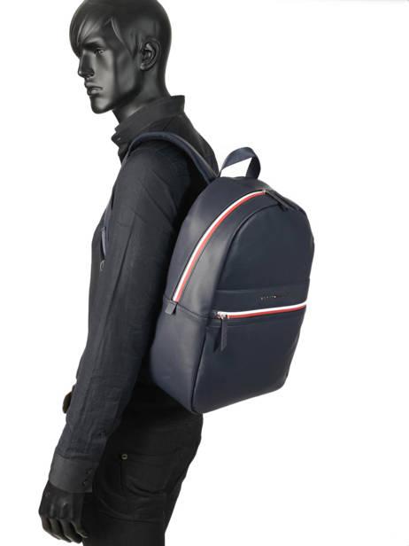 Backpack Tommy hilfiger Blue essentiel AM04665 other view 2