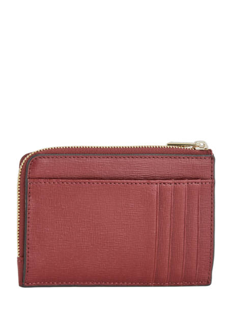Leather Coin Purse Babylon Furla Red babylone BAB-PR75 other view 2