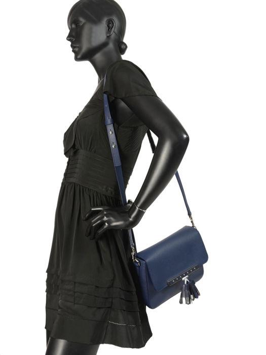 Longchamp Game on Sacs porté travers Bleu