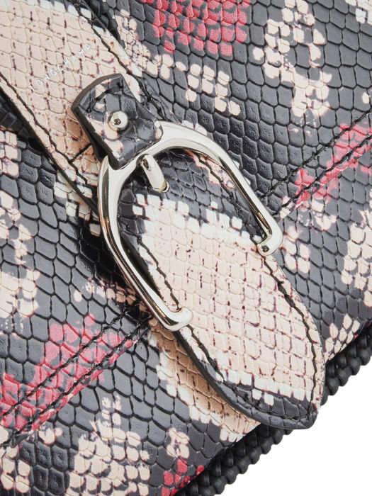 Longchamp Amazone python Besaces Marron