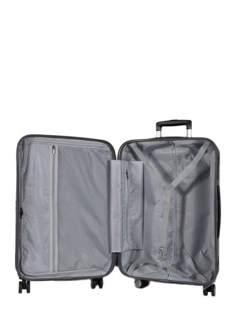 Hardside Luggage L Quadra Travel Gray quadra 18802-L other view 4