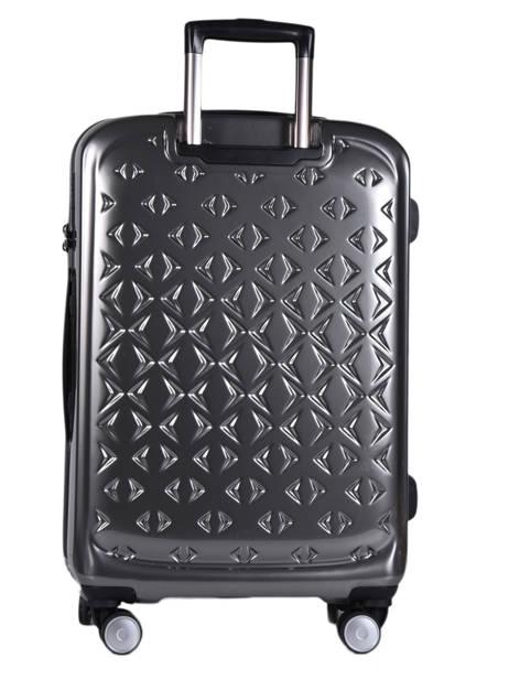 Hardside Luggage L Quadra Travel Gray quadra 18802-L other view 3