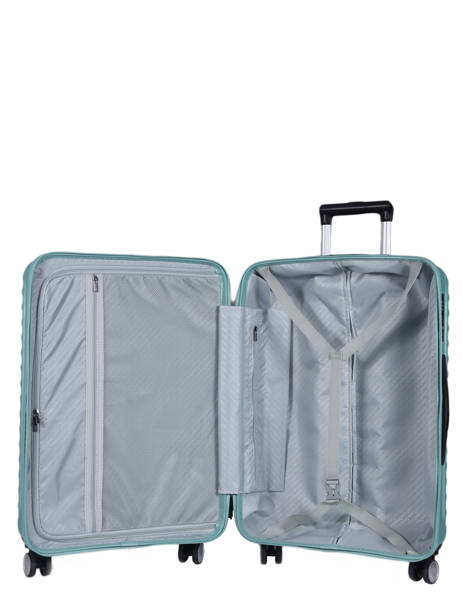 Hardside Luggage L Wind Travel Blue wind 18812-L other view 4