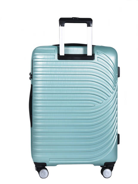 Hardside Luggage L Wind Travel Blue wind 18812-L other view 3