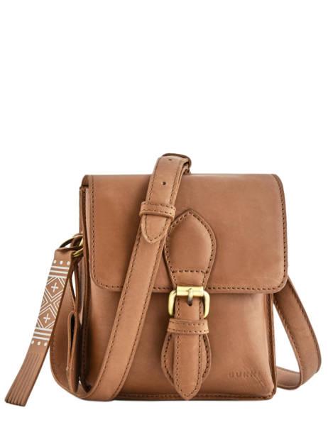 Shoulder Bag Desert Daisy Leather Burkely Brown desert daisy 542083