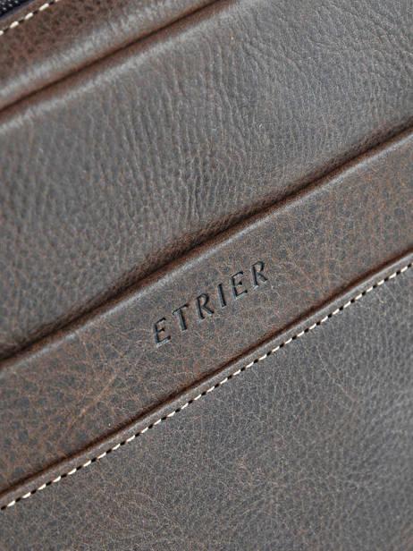 Crossbody Bag Etrier Brown spider ESPI04 other view 2