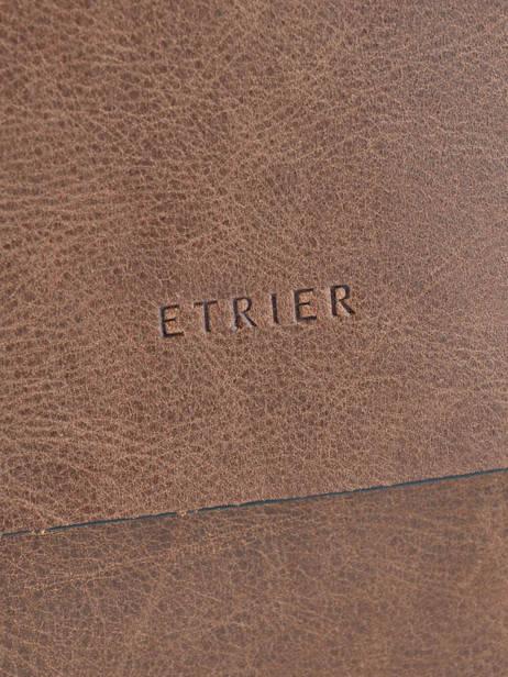 Crossbody Bag Etrier Black spider ESPI05 other view 1
