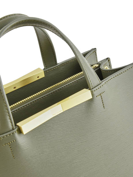 Sac Porté Main Faceted Body Cuir Ted baker Vert faceted body JAANET vue secondaire 1