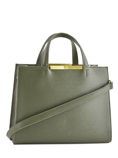 Sac Porté Main Faceted Body Cuir Ted baker Vert faceted body JAANET vue secondaire 3