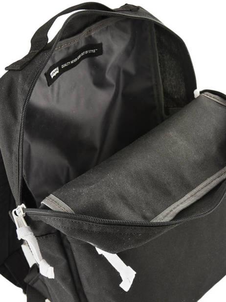 Sac à Dos Levi's Compact A4 Levi's Noir l pack 229935 vue secondaire 4