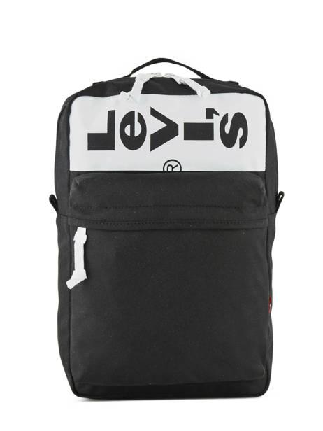 Sac à Dos Levi's Compact A4 Levi's Noir l pack 229935