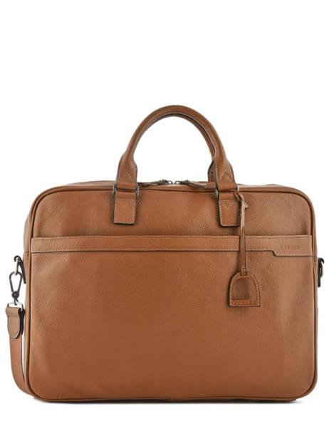 Briefcase 1 Compartment + 17'' Pc Etrier Black flandres EFLA06