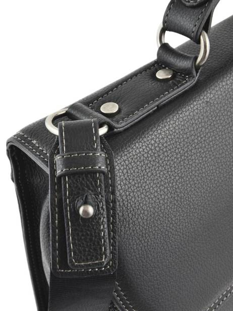 Briefcase 1 Compartment Etrier Black flandres EFLA01 other view 4