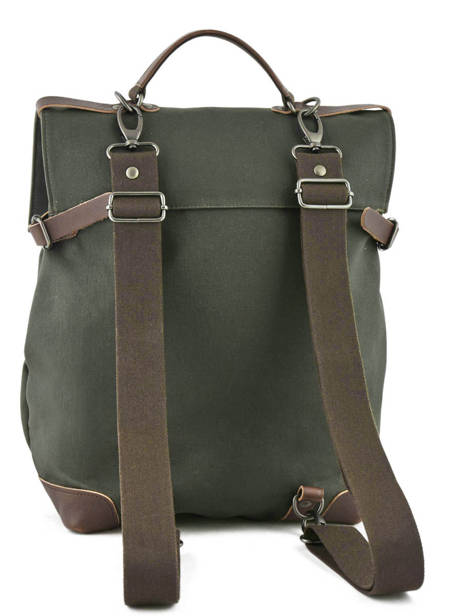 Backpack Equipier Foures Green equipier F439 other view 3