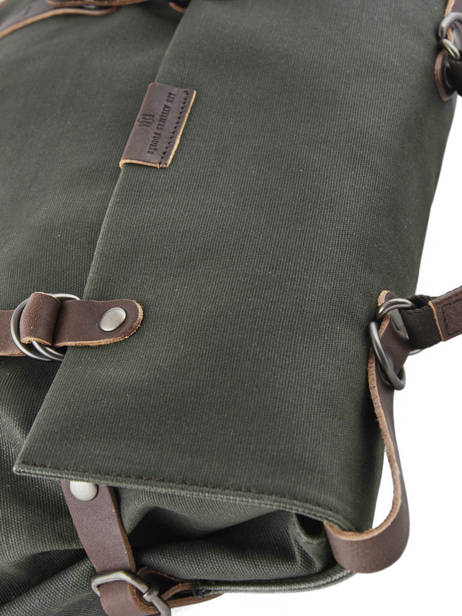 Messenger Bag Equipier Les ateliers foures Green equipier F559 other view 1